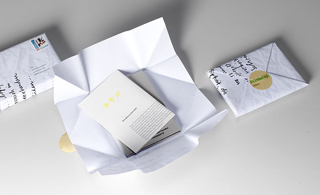 Personalisiertes Mailing - Verpackung